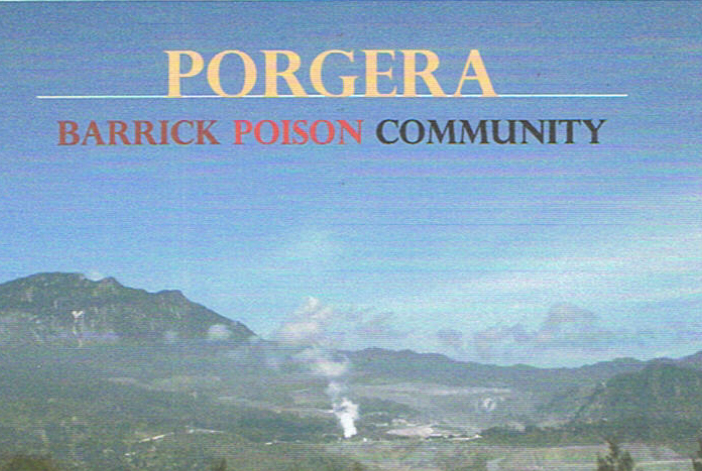 Picture 81 Toxic Non Neutralized Tailings emitted from Barrick Gold's Porgera Mine: Villagers poisoned (report w/testimonies)
